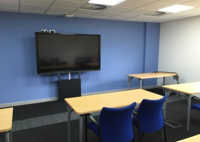 Toyota Training Facility UK AV Installers