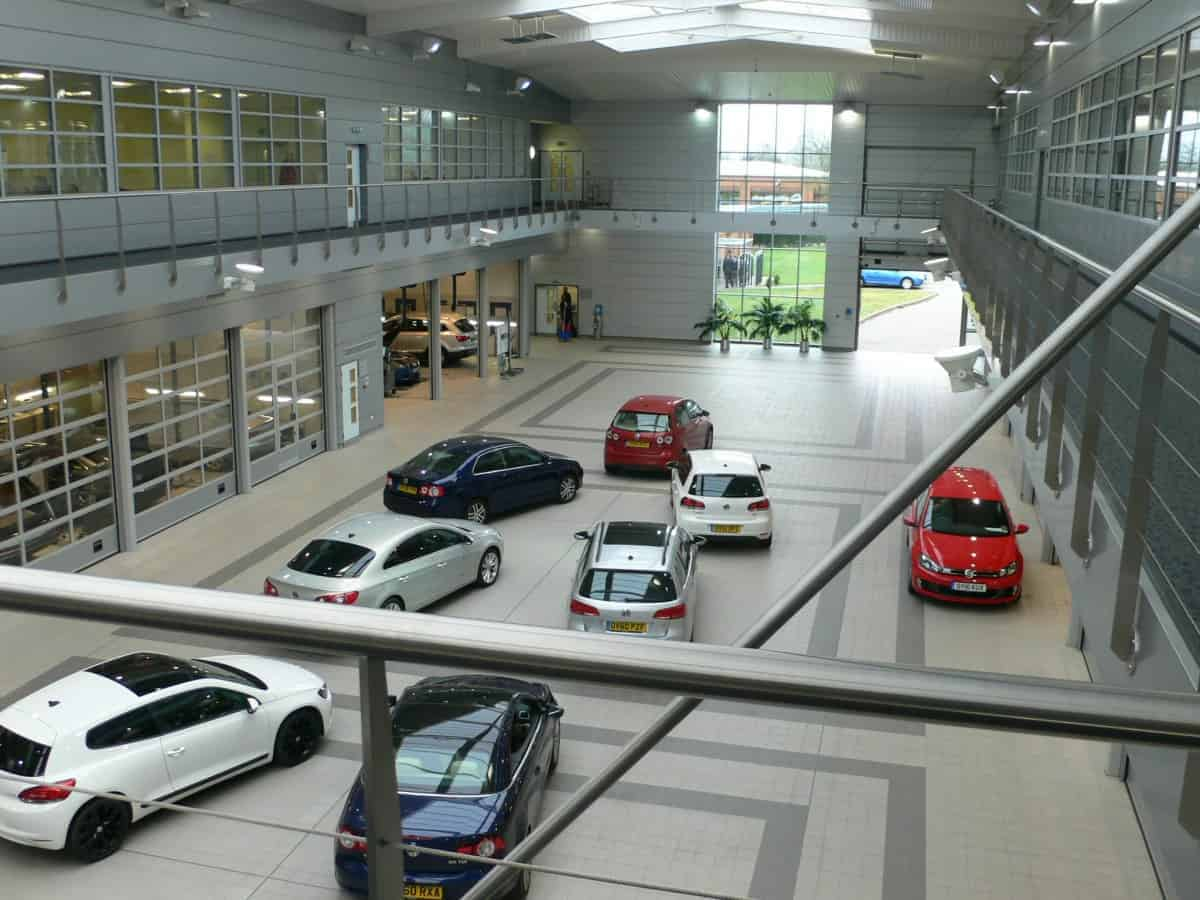 Volkswagen National Learning Centre AV Systems Integrator