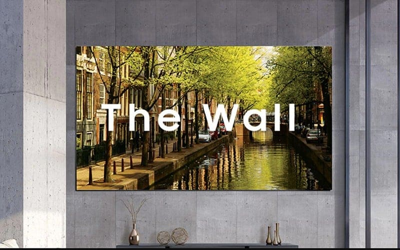 LED Video Wall Supplier Samsung The Wall London