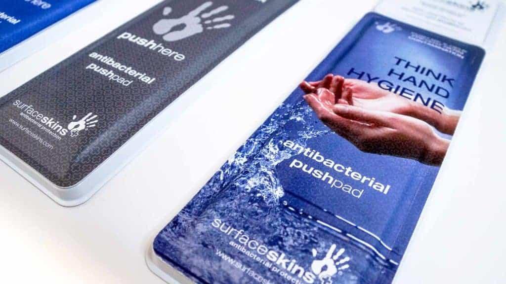 SurfaceSkins Antibacterial Door Push Plate Supplier