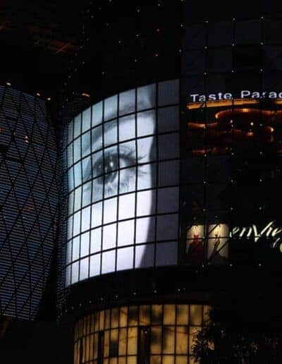LED Video Wall, Orchard Road Singapore