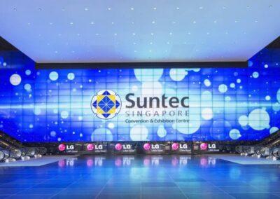Suntec Singapore LED Video Wall